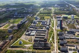 Mekel Park - Campus Delft University of Technology