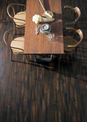 Teragren says itsPortfolio Collection of bamboo flooring is a wide-plank product that's an alternative to tropical hardwoods.