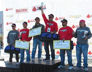 Fastest Trowel on the Block and Masonry Skills Challenge Winners.