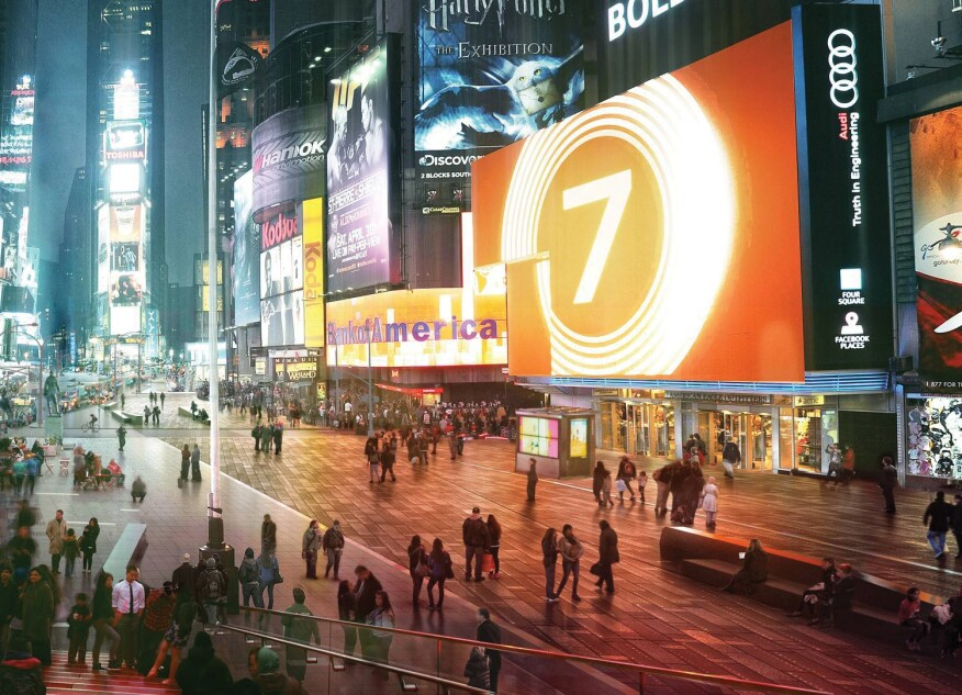 Snøhetta rendering of Times Square