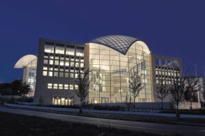 The GE Edison Award was presented to Cambridge, Mass.-based lighting firm Lam partners for their work at the United States Institute of Peace building in Washington, D.C.