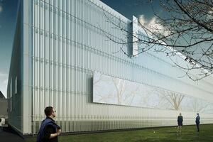 Thomas Phifer and Partners Unveils Design for Corning Museum of Glass Expansion