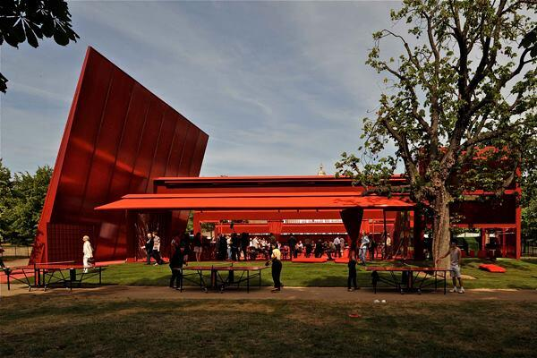 Serpentine Gallery Pavilion 2010, designed by Jean Nouvel