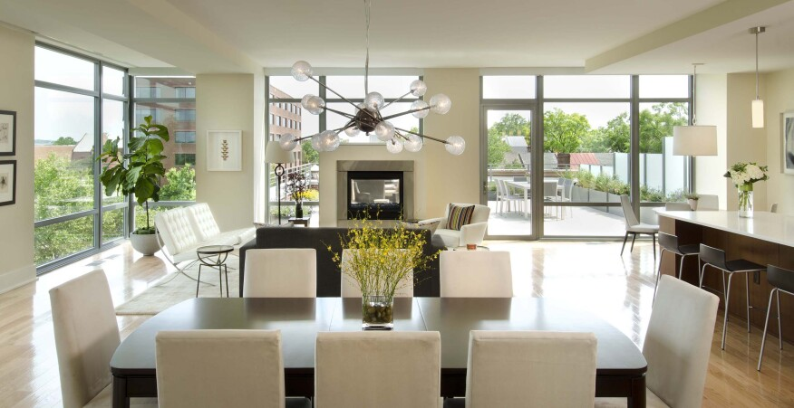 The Oronoco's open kitchen–dining–living rooms reflect how most age groups