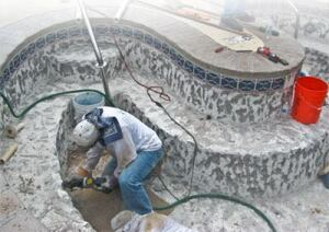 Blasting The Problem Away Pool Amp Spa News Surface