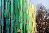 Open Building Research Adds Color to Life Through a Façade