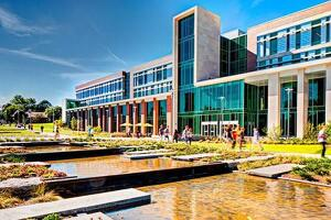 Sangren Hall, Western Michigan University in Kalamazoo, Michigan by SHW Group.