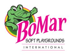 Bo-Mar Soft Playgrounds Int'l. Logo