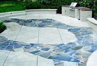 Incorporating natural stone into projects enhances the look of concrete and is a key direction for Ralston.