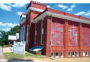 Foreman Seeley Fountain Architecture and Lusk & Company helped transform this aging church in Lawrenceville, Ga., into a theater.