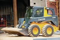 E-Series skid-steers and compact track loaders