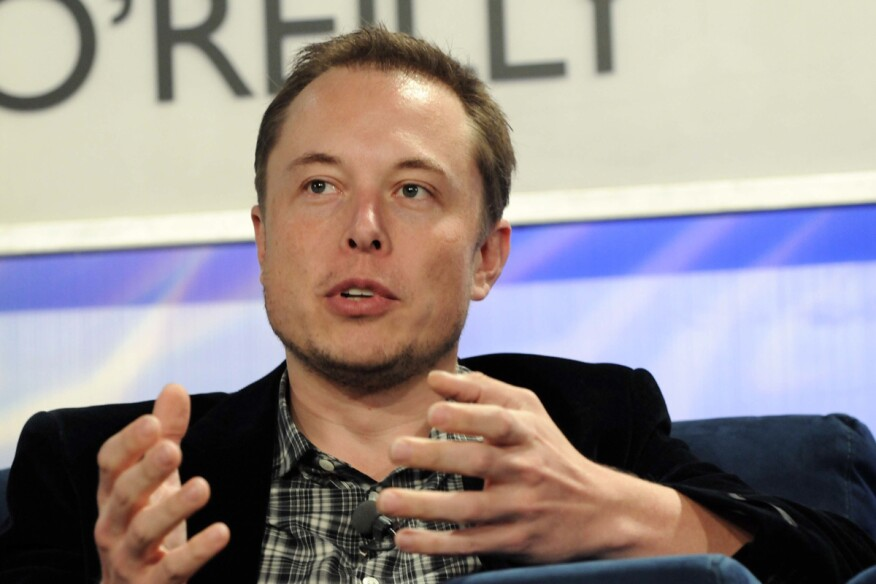 Tech entrepreneur Elon Musk at Web 2.0 Summit in 2008