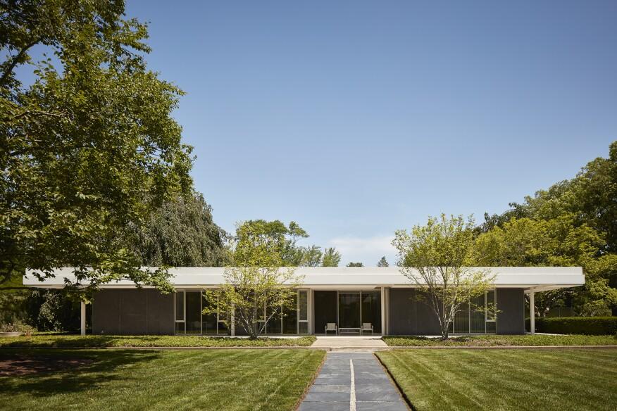Eero Saarinen's Miller House