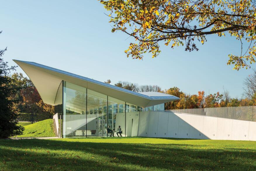 Novartis Visitor Reception, East Hanover, N.J., by Weiss/Manfredi Architecture/Landscape/Urbanism