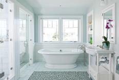 Sunny Bath in Cape Cod, Mass.