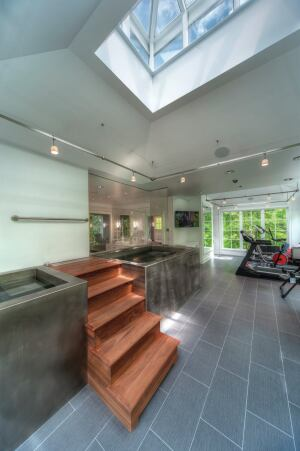 Michael Matrka Ramsey Residence Master Bath and Spa