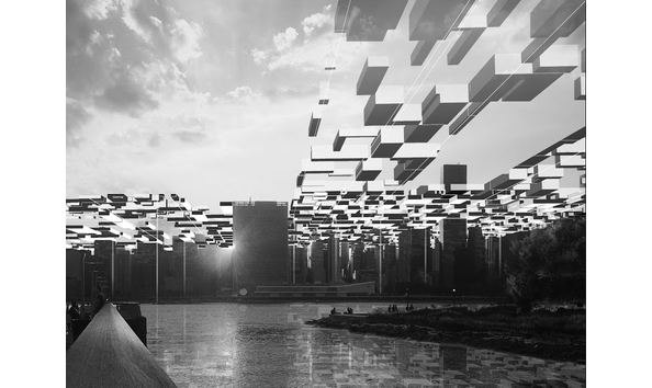 """Deep_Future_Manhattan Sky_Lattice"" by Asymptote Architecture"