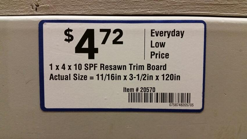 How the Lowe's 2x4 Case Has Affected Its Labeling