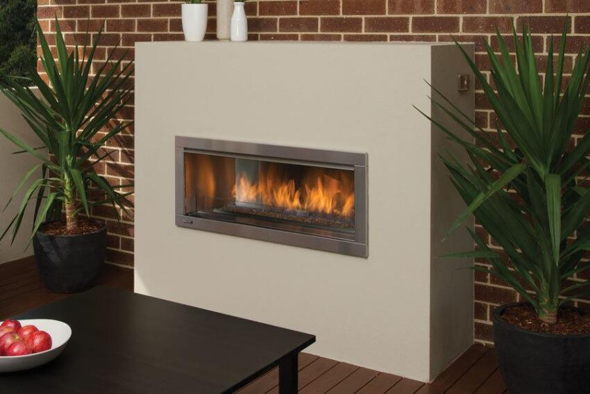 Indoor/Outdoor Fireplace From Regency
