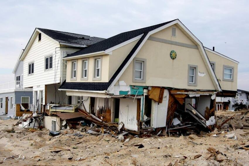 New Jersey Slowly Digs Out From Hurricane Sandy