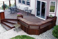 The Surface Of This Bench Seat Is More Than 30 Inches Above Grade But The Deck Surface Isn T Therefore No Guards Are Required For This Deck Design