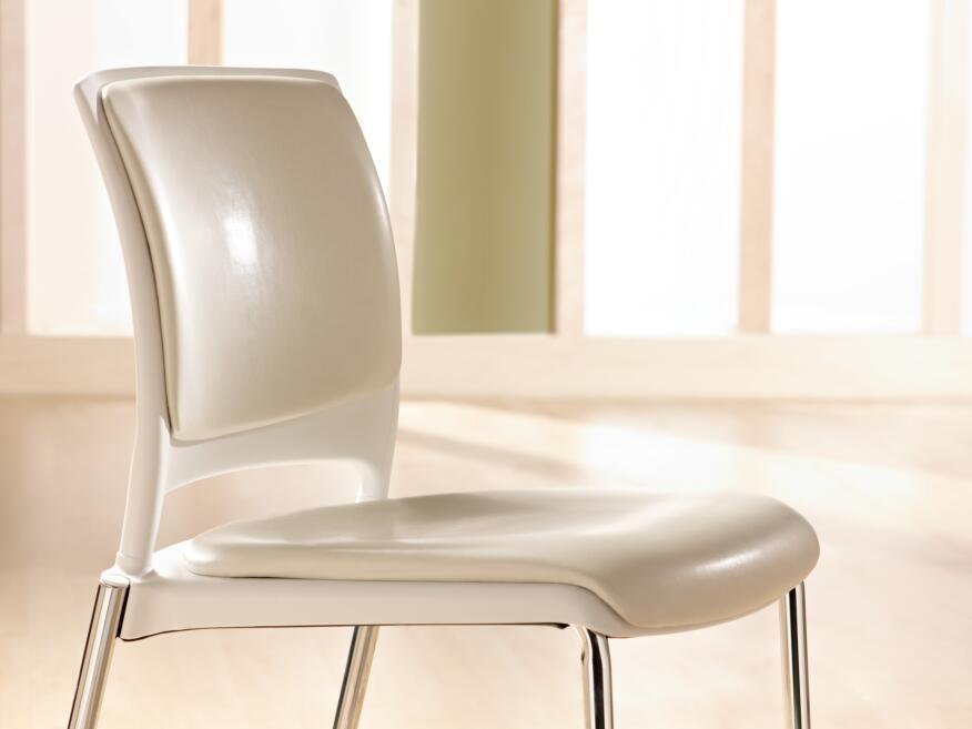 1:1—The weight of KI's new line of chairs, including plastic and non-plastic parts, to the carbon dioxide equivalent of greenhouse gas sequestered by the new polymer from which it is fabricated.