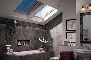 SageGlass Electronically Tintable Skylights by Velux