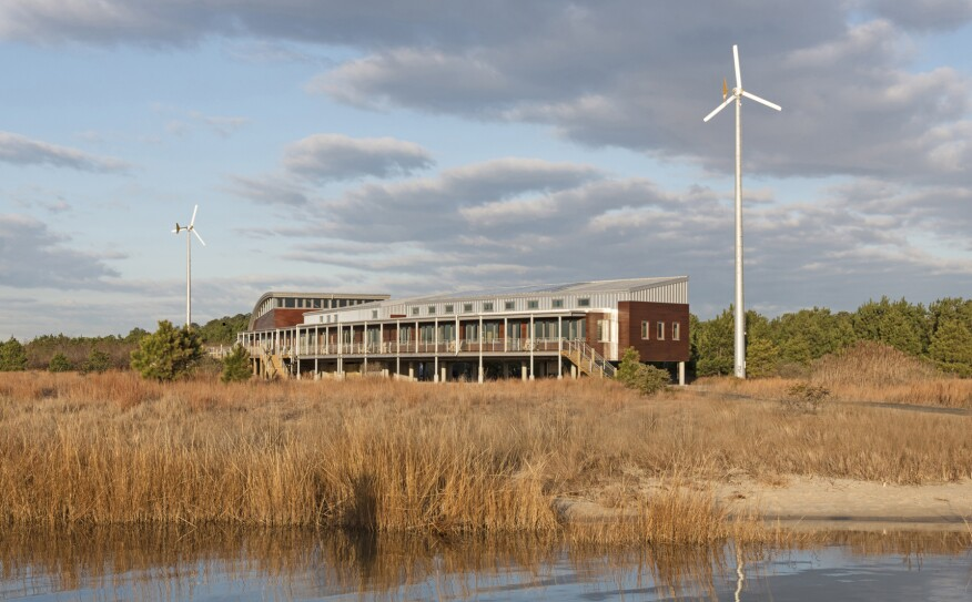 Brock Environmental Center, in Virginia Beach, Va., designed by SmithGroupJJR.