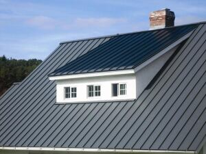 Englert LEED-compliant standing seam metal roof with photovoltaic laminates delivers much of the energy needs of the average American home without tapping into local utility resources.  (PRNewsFoto/Englert Environmental) (Newscom TagID: prnphotos079480)     [Photo via Newscom]