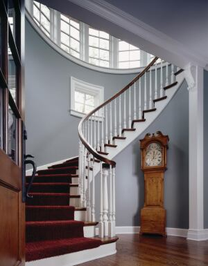 House With a Classical Entryway