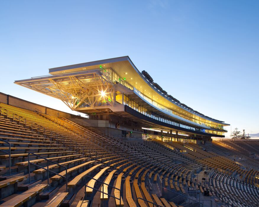 California Memorial Stadium & Simpson Training Center.