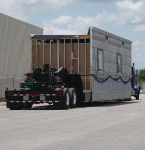 A texas based modular manufacturer ships modules with for Neatherlin homes floor plans