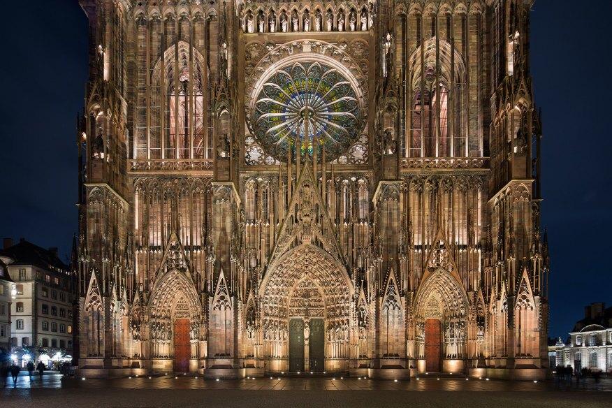 Strasbourg cathedral architect magazine awards for K architecture strasbourg