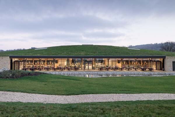 Gloucester Services, by Glenn Howells Architects with AFL Architects