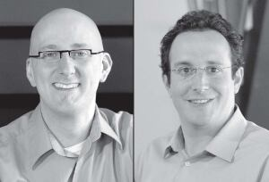 Jay Janette, AIA (left), and David Goldberg, AIA