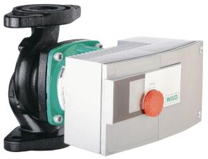 Stratos    Wilo USA  wilo.com  High-efficiency circulator for heating, cooling, and refrigeration - Reduces annual power consumption by 80% - Suitable applications include residential buildings, commercial complexes, hospitals, schools, and industrial settings - Prohibits formation of condensation in sensitive areas - One-button control - Uses ECM (electronic commutated motor) technology