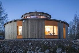 Villa Circuitus - Sweden's round passive house