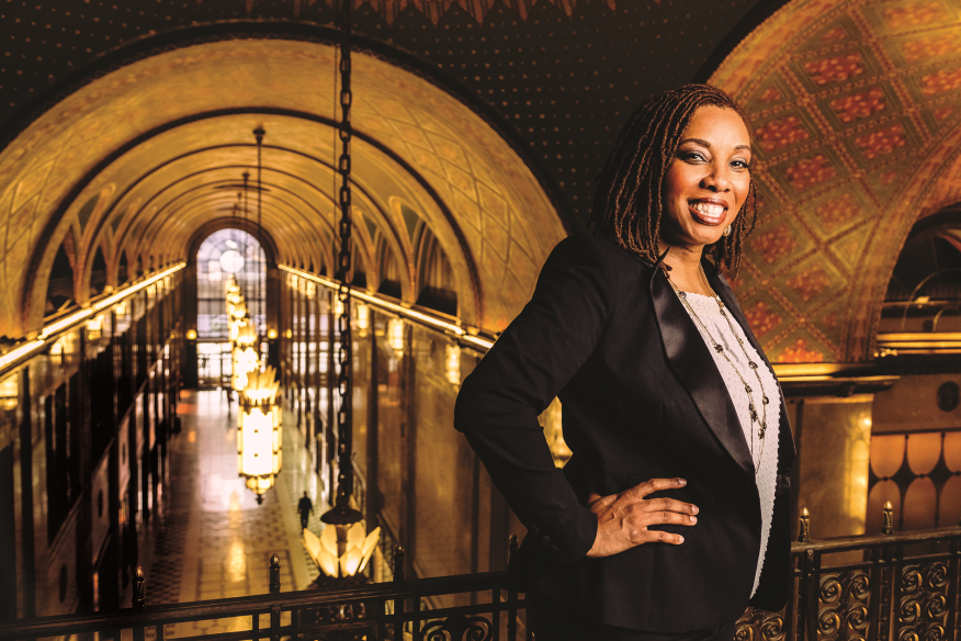 Sonya Mays, president and CEO, Develop Detroit
