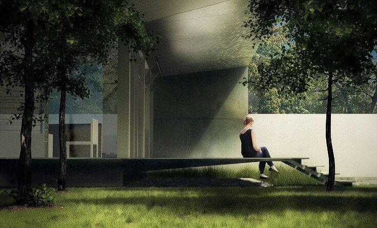 Case Study House rendering.