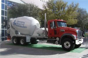 Mack Truck and McNeilus Company donated the signature mixer truck for the 6th Annual CIM Auction.