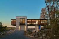 A Contemporary Bridge Home in West Virginia