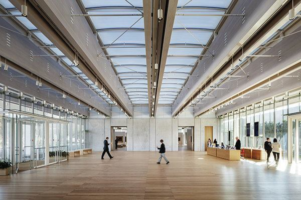 Structural Light The New Renzo Piano Pavilion At The