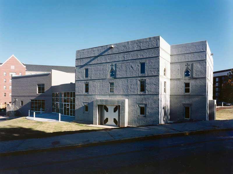 The Lyke House Catholic Student Center at the Atlanta University Center, built by Stanley, Love-Stanley, in 1999.