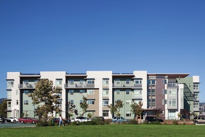Colorful Complex Provides Affordable Housing Options For Oakland Seniors