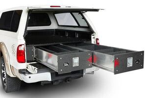 Cargo bed lockers from CargoEase