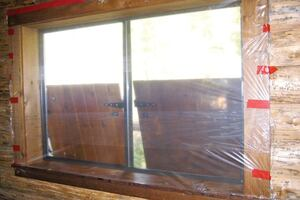 Replacing Windows in Log Homes