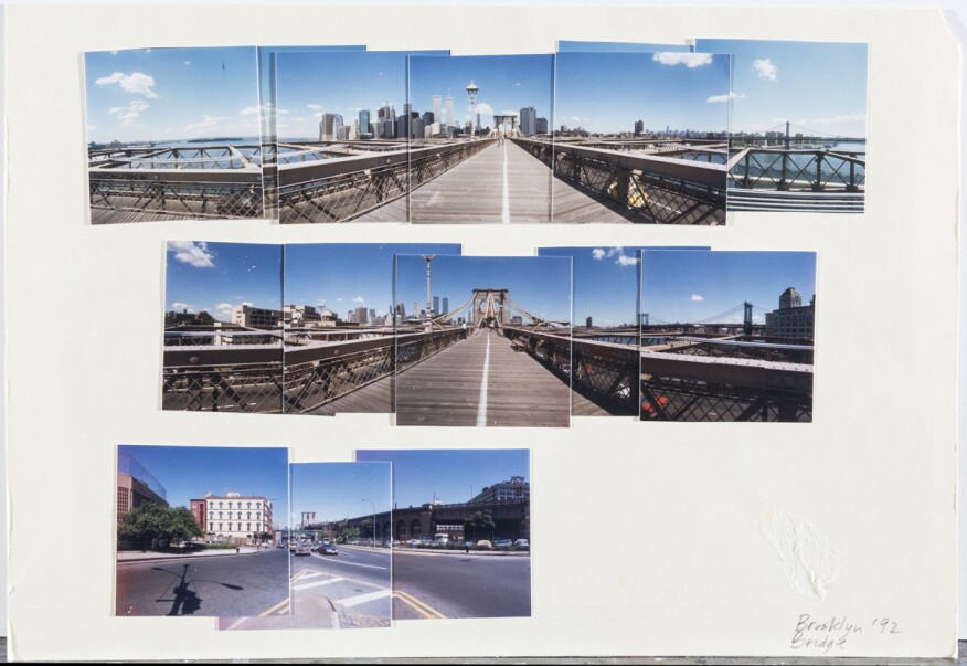Untitled (including Brooklyn Bridge images), date unknown.
