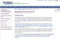Building Sciences Career Center Opens