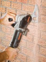 With a little practice, you can make quick and accurate masonry cuts with this innovative tool.