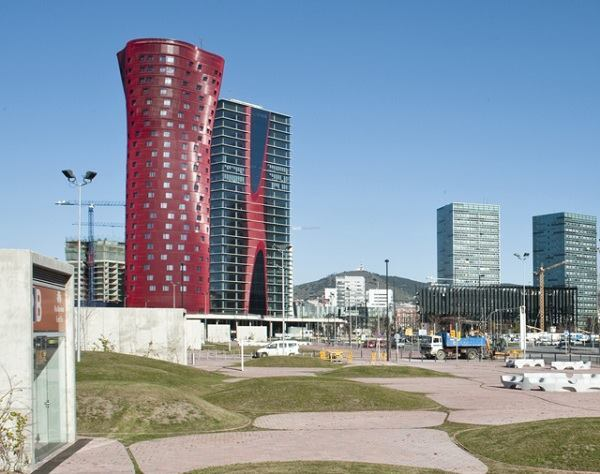 Porta Fira Towers.